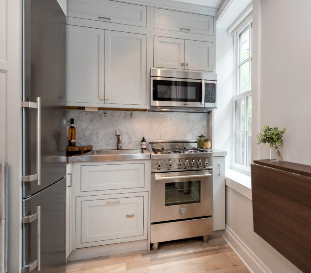 Kitchen Cabinets New York City: 5 Ways To Improve A Small New York Kitchen