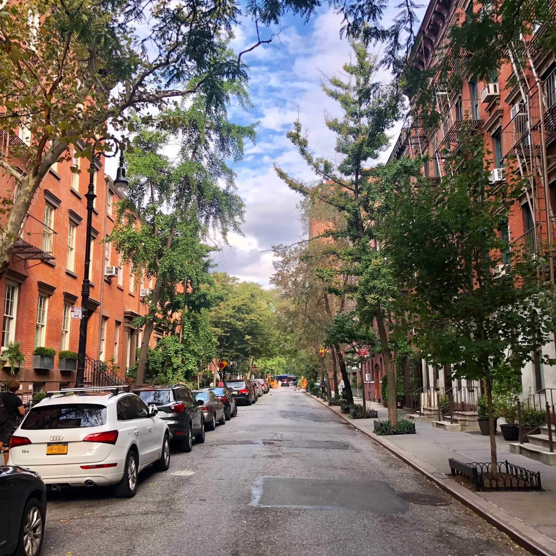 Charming West Village Streets in New York City