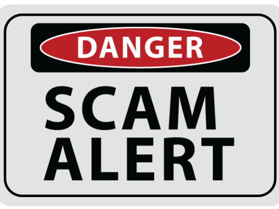 Warning Scam Alert