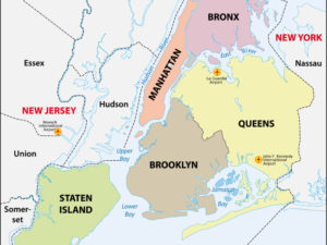 5 Boroughs of New York City