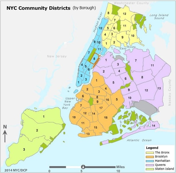 NYC School Zones - NYC Elementary School System