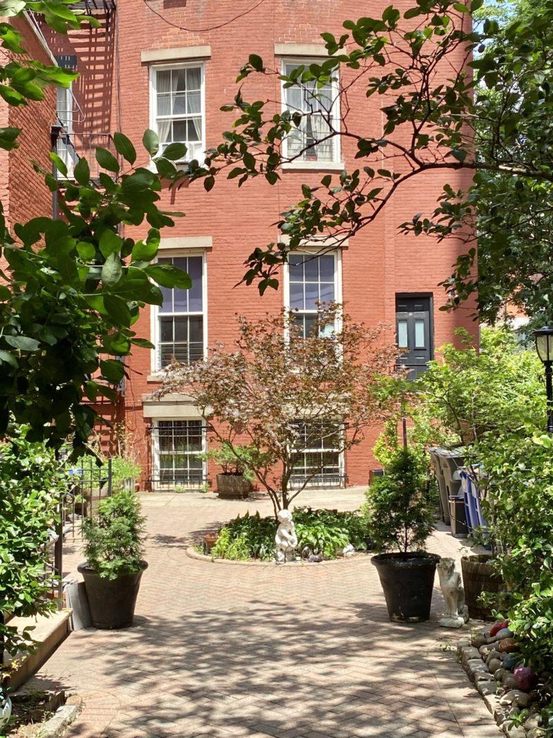West Village Private Garden NYC