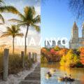 NYC vs. Miami