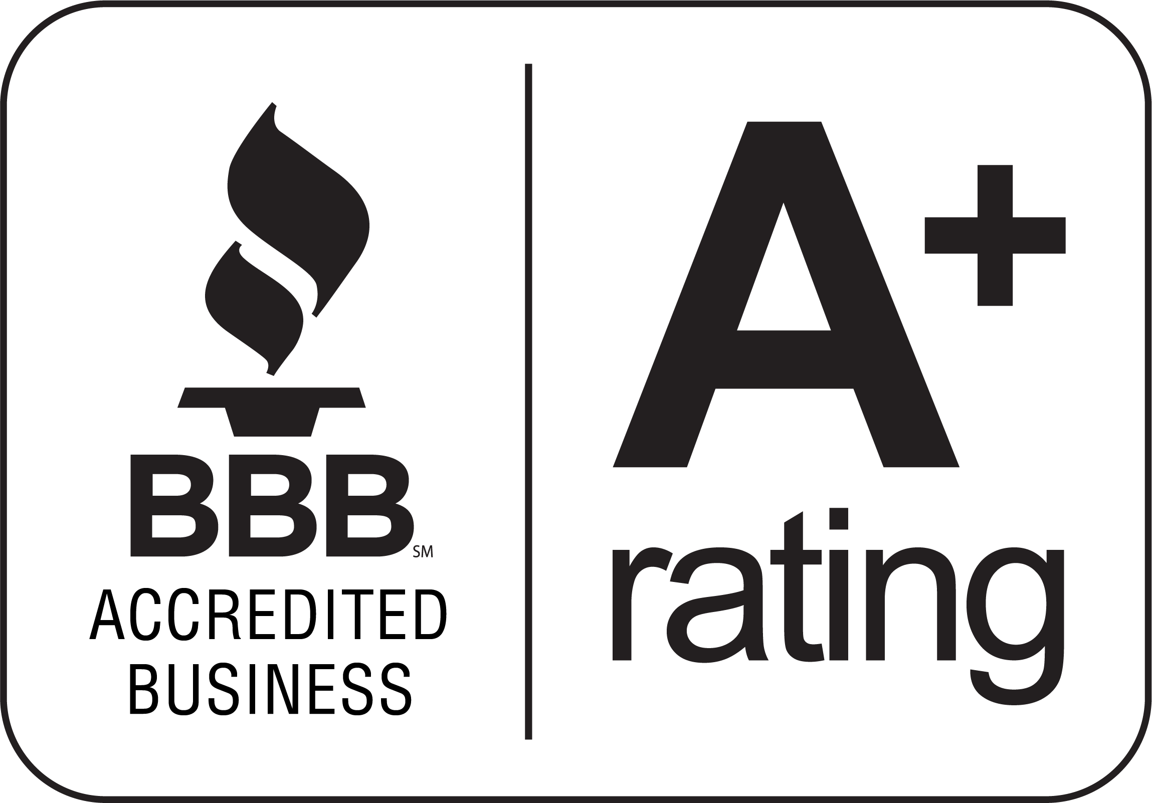 BBB Rating A+ as of 12/8/2016