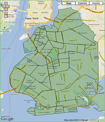 New York City & Brooklyn Neighborhoods