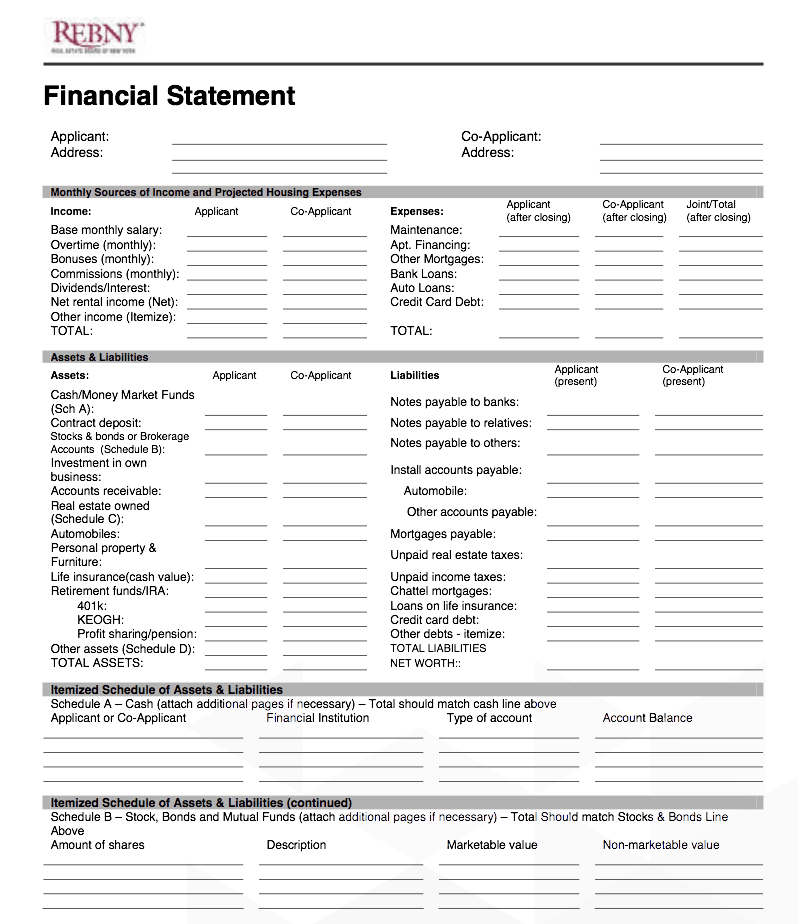 How to Fill Out a NYC Co-op Board Application